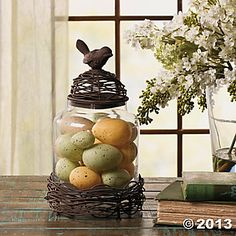Bird's Nest Jar  Oriental Trading