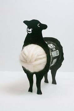 These wool yarn bobbies. | 34 Insanely Cute Packaging Ideas You Need To See