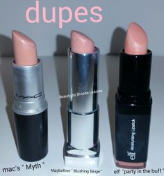 mac dupes, mac myth, lipstick, maybelline blushing beige, elf party in the buff wpid-img_20150324_232631.jpg