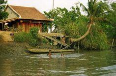 Paisaje Vietnam, rio