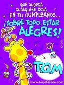 Que suceda cualquier cosa en tu cumpleaños... ¡Sobre todo, estar alegres! Happy Birthday Parties, Happy Birthday Quotes, Happy Birthday Images, Birthday Messages, Happy Birthday Cards, Birthday Greetings, Birthday Wishes, Gods Love Quotes, Cute Words