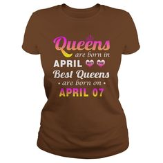 april 07 birthday T-shirt, Best queens are Born on april 07 shirts, april 07 birthday Queen T-shirt, Birthday april 07 T Shirt,queens Born april 07 Hoodie Vneck #gift #ideas #Popular #Everything #Videos #Shop #Animals #pets #Architecture #Art #Cars #motorcycles #Celebrities #DIY #crafts #Design #Education #Entertainment #Food #drink #Gardening #Geek #Hair #beauty #Health #fitness #History #Holidays #events #Home decor #Humor #Illustrations #posters #Kids #parenting #Men #Outdoors…