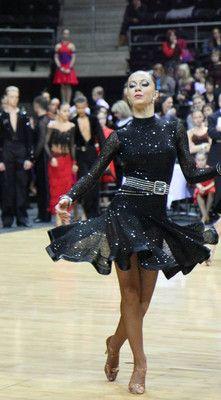 Beautiful Latin Dancing Dress S-M. US