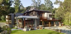 Mandeville Canyon Residence Par Rockefeller Partners Architects - Los Angeles, Usa | Construire Tendance