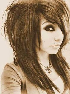 Best Scene Haircuts for Teenage Emo Girls. White Short Emo Hairstyle for Curly Scene Hair Hairstyles Haircuts medium length scene hairstyles. Scene Haircuts, Hairstyles Haircuts, Cool Hairstyles, Summer Hairstyles, Funky Long Hairstyles, Scene Hairstyles, Hairstyle Ideas, Emo Girl Hairstyles, Plait Hairstyles