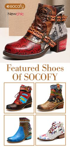 featured shoes from socofy. - featured shoes from socofy. Low Heel Ankle Boots, Knee Boots, Fashion Shoes, Fashion Accessories, Floral Shoes, Stylish Boots, Short Boots, Me Too Shoes, Trendy Outfits