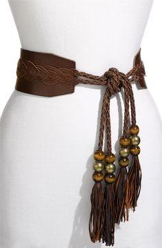 Betsey Johnson 'Tassel Tie' Belt available at Nordstrom
