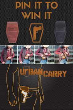 ***THIS CONTEST HAS ENDED! Please visit our page to enter into our current running giveaways!*** PINT IT TO WIN IT! Pin this post by June 30th to automatically be entered for your chance to win a FREE Urban Carry Holster!