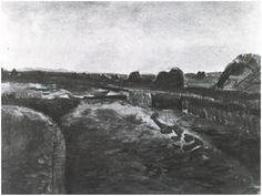 Peat Bog  Vincent van Gogh Watercolor, Watercolour Drente: October, 1883