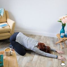 Trapped Gas: 10 Stretches That Can Help You Pass Wind Quickly stretches to relieve gas child's pose Relieve Gas Pains, Relieve Gas And Bloating, How To Relieve Stress, Trapped Wind Relief, Trapped Gas, Gas Remedies, Home Remedies, Homeopathic Remedies, Natural Remedies