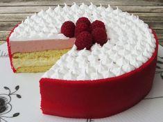 Hindbærlagkage Beautiful Cakes, Amazing Cakes, Baby Food Recipes, Dessert Recipes, Danish Food, Crazy Cakes, Mousse Cake, Let Them Eat Cake, Yummy Cakes