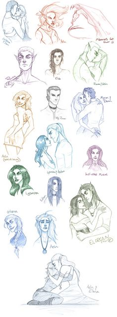 Throne of Glass Sketchdump by TroubleTrain.deviantart.com on @DeviantArt