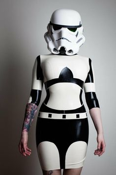 That does not look like a regulation Storm Trooper outfit.