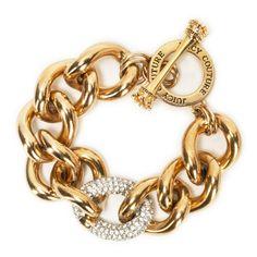 Juicy Couture Pavé Link Bracelet #VonMaur
