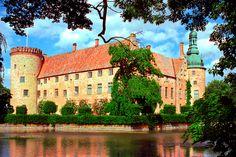 Castle in the Swedish province Skåne, near the village Vittskövle.