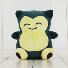 Kawaii 1pcs 14cm Snorlax plush stuffed toy free