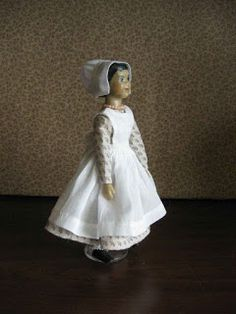 In Hitty: Her First Hundred Years , Dorothy Lathrop drew the delightful illustrations. Many of the illustrations depict Hitty in dresses tha. Dance Dresses, Flower Girl Dresses, Doll Dresses, Peg Wooden Doll, Photo Elements, Doll Dress Patterns, Real Doll, White Caps, Little Flowers