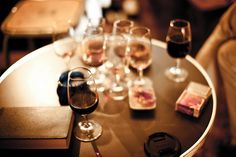 there is nothing in the world that a quiet night and a glass of wine cant fix