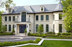 This Chicago home has French appeal - Traditional Home®  Photo: Werner Straube Architect: Robert W. Kirk