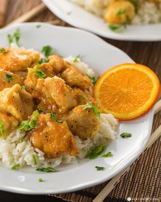 Orange Chicken from CenterCutCook