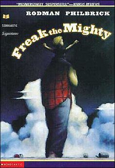 Freak the Mighty was another of my very favorite books to read to my graders. At the end of the year when I asked kids which Read Aloud was a favorite, this always finished in the top 3 of most every kid's list. Freak The Mighty Book, Book Club Books, Books To Read, Book Clubs, Smart Board Activities, Teaching Reading, Teaching Ideas, Teaching Strategies, Guided Reading