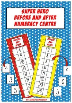 A fun interactive math centre for students develop confidence with number sequences to and from 30 and develop fluency counting forwards and backwards by one. This simple game which requires minimal set up is an excellent addition to maths and numeracy rotations and can be used independently by students working in small groups with little to no teacher direction!