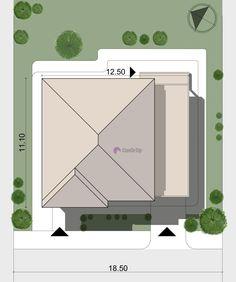 Model 138mp | Case de top Design Case, House Plans, Floor Plans, How To Plan, House Styles, Home Decor, Fashion, Modern, Moda