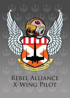 Tam Caeterus Potis Vixi - Rebel Alliance X-Wing Pilot