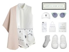 """""""One Fine Day"""" by mathildasarah ❤ liked on Polyvore featuring Chicwish, Casetify, Madewell, Vintage Playing Cards, Yves Saint Laurent, October's Very Own, Merona, Topshop, Dogeared and MANGO"""