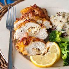 Chicken Chesapeake Chicken, crab, and bacon in every bite!
