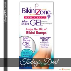 Today Only! 10% OFF this item.  Follow us on Pinterest to be the first to see our exciting Daily Deals. Today's Product: Bikini Zone After-Shave Gel For Bikini Area Buy now: https://small.bz/AAhbqAI #musthave #loveit #instacool #shop #shopping #onlineshopping #instashop #instagood #instafollow #photooftheday #picoftheday #love #OTstores #smallbiz #sale #dailydeal #dealoftheday #todayonly #instadaily