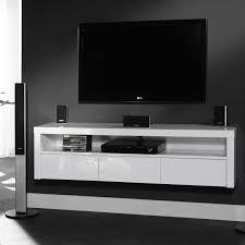 hangend tv meubel hoogglans wit ile ilgili görsel sonucu