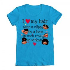 They have come out with new shirts -Christmas for the girls?  Love Hair List