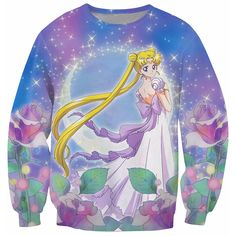 Get this limited edition t shirt and let the world know how much you love Princess Serenity Sailor Moon long Sleeve Available in T shirt and Long Sleeve Styles ! Internet Exclusive - Not Sold In Store