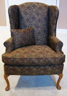 Wing Chair Slipcover: Dress Up Chairs With Fashion   Home Furniture Design
