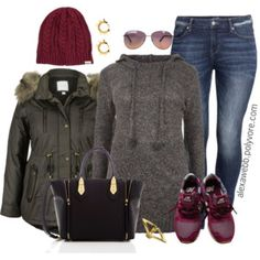 Plus Size -Casual in Cold