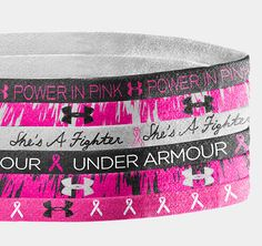 Breast Cancer Awareness Headbands>>> awesome in my opinion>>>Wish I had these! Love the cause and the colors!