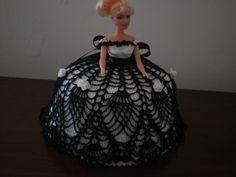 robe princesse barbe en crochet