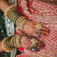 Latest Bangle designs for the 2019 Bride - Witty Vows Indian Bridal Outfits, Indian Bridal Fashion, Bridal Bangles, Wedding Jewelry, Gold Bangles, Bangle Bracelets, Chuda Bangles, Bridal Jewellery Inspiration, Bridal Chuda