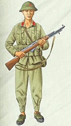 Vietnamese National Army, private - pin by Paolo Marzioli
