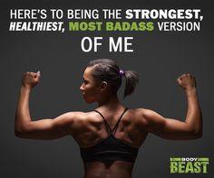 Body Beast Workout for Women - Be a BADASS!