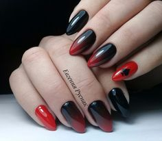маникюр - дизайн ногтей French Nails, Mani Pedi, Nail Arts, You Nailed It, Nail Ideas, Nail Colors, Nail Designs, Goth, Makeup