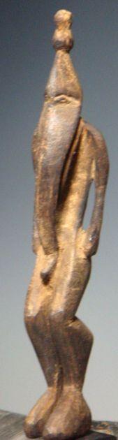long nose amulet figure - Lower Sepik Papua New Guinea