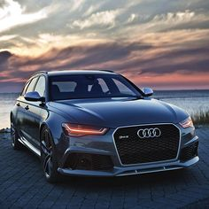 2016 Audi RS6 Avant. Bonkers car - lovely setting. Just wish they would make this as a saloon again