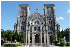 The Cathedral of the Immaculate Conception is the largest Christian church in Thailand.