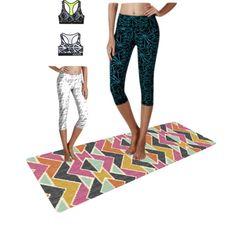 Abstrat  printing yoga clothing in Ebay