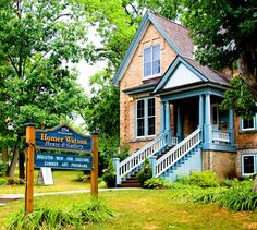 #kitchener Homer Watson House & Gallery Kitchener Ontario, Summer Art, Things To Do, Canada, Cabin, House Styles, Gallery, Search, Google
