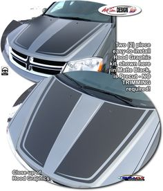 Dodge Avenger Vehicle Specific Graphic kits that are Precut and ready to install.