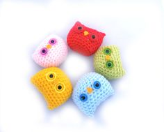Owl Mini Plush by GretelCreations on Etsy