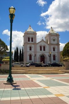 The main square in Ponce, PUERTO RICO